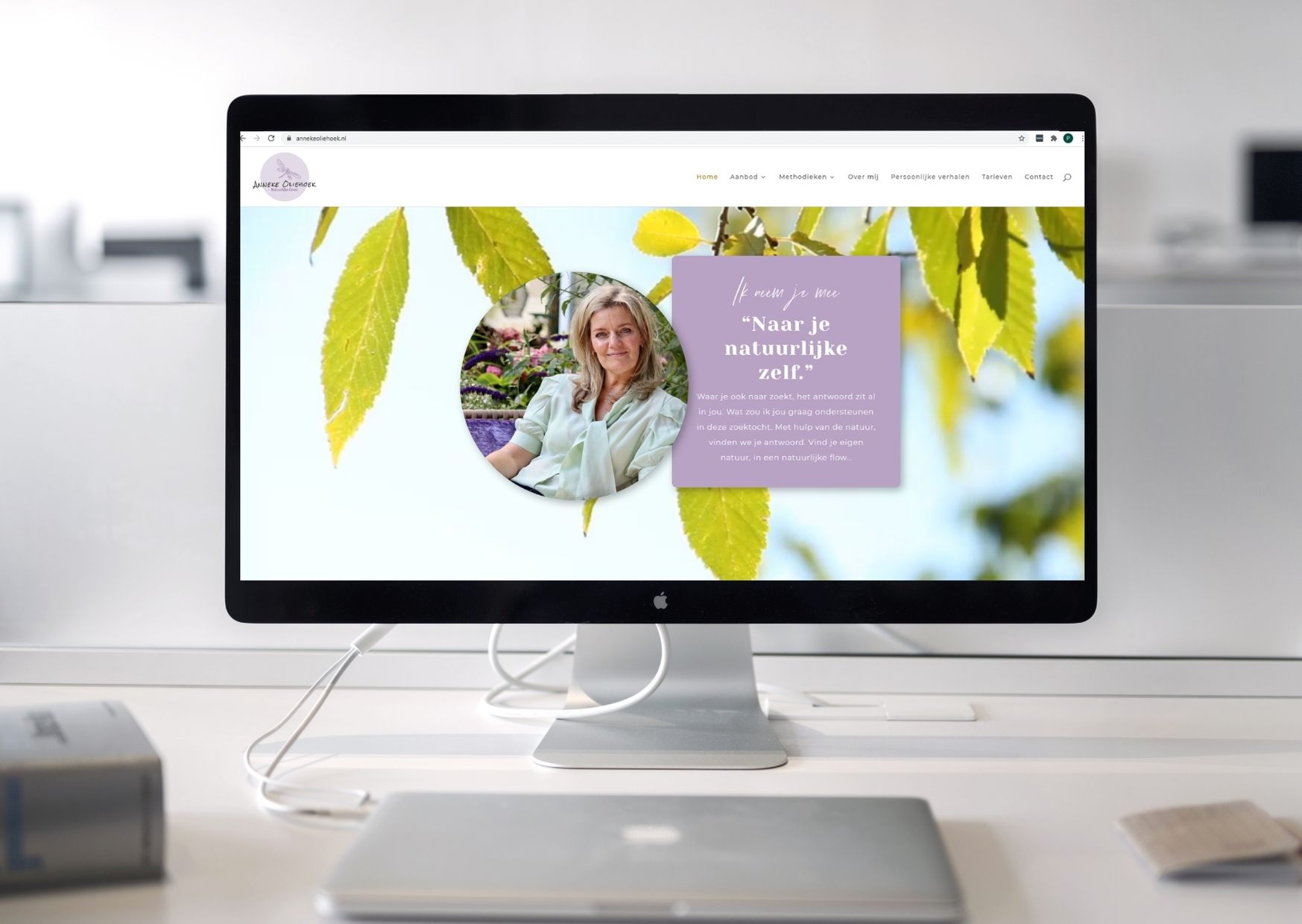 Anneke Oliehoek Natuurlijke Groei Paula Terpstra Websitecoaching Testimonial
