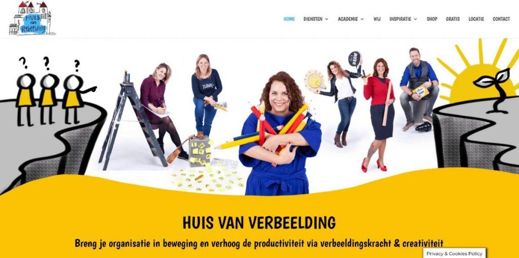 Gele website emotie kleur kleurgebruik Paula Terpstra Websitecoaching Huis van Verbeelding