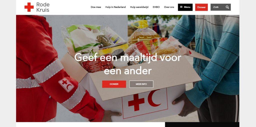 Rode website kleurgebruik kleur Paula Terpstra Websitecoaching