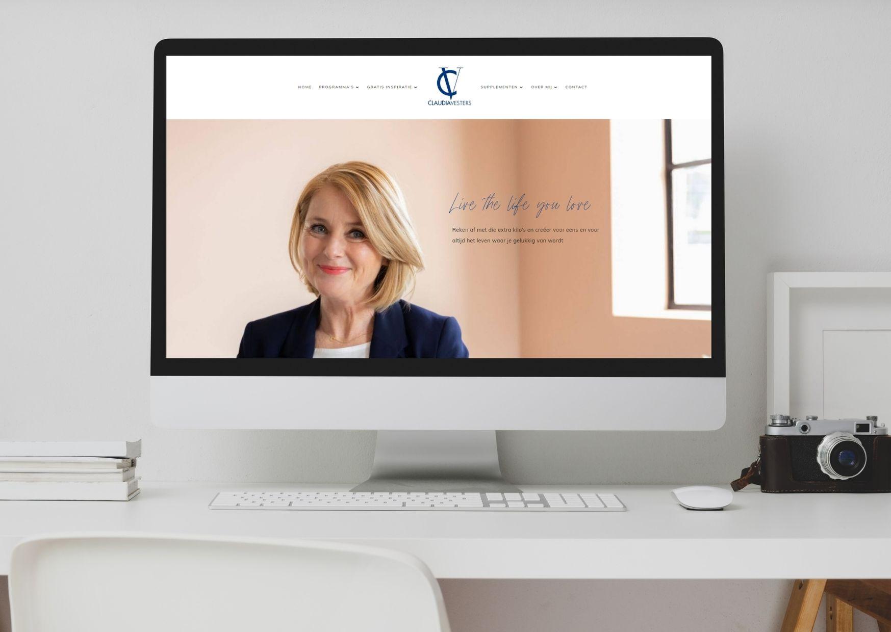 Claudia Vesters Paula Terpstra Webdesign