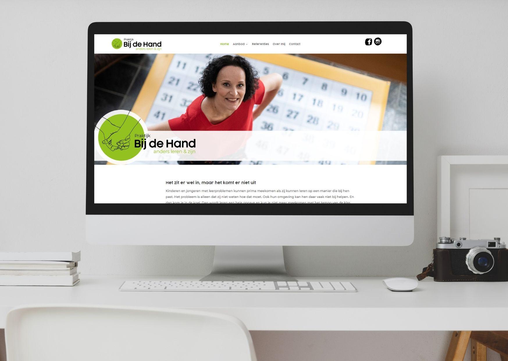 Praktijk Bij de Hand Paula Terpstra Websitecoaching