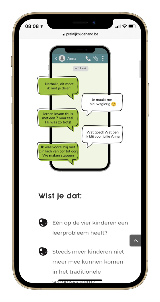 Testimonial Nathalie Godart Praktijk Bij de Hand Mobile 1 low res