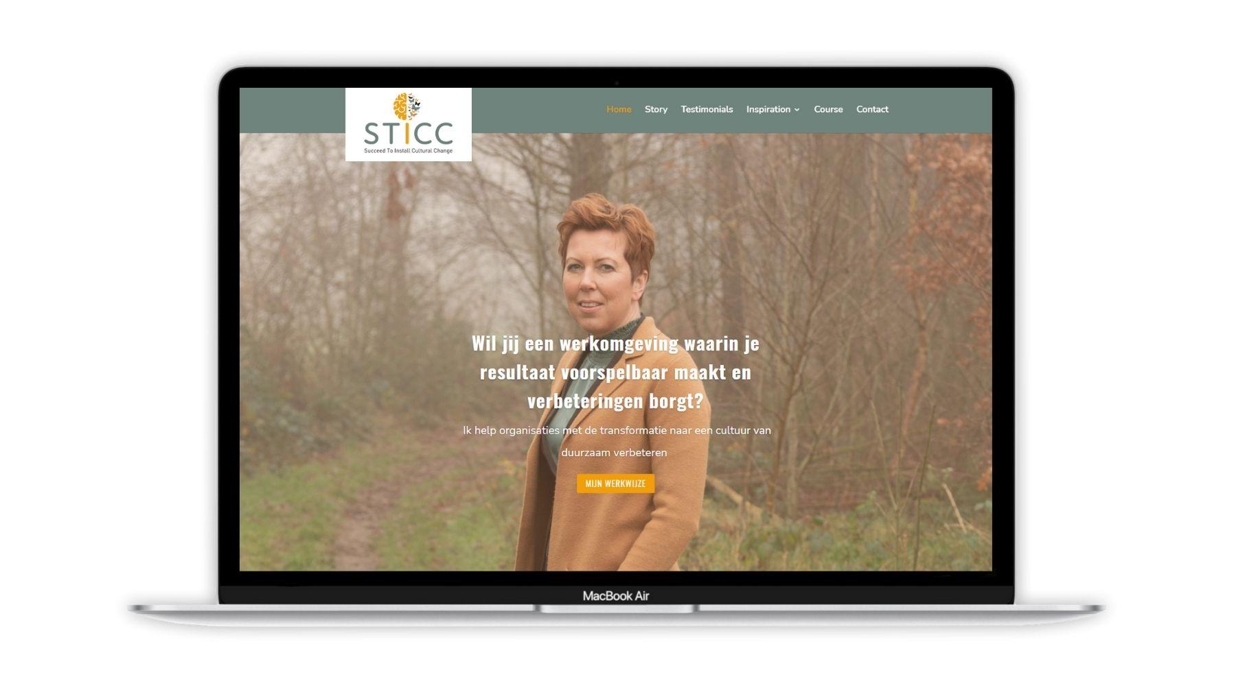 Portfolio project STICC Paula Terpstra Webdesign 1800x1000
